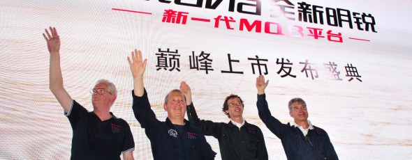 Displaying in China for Skoda Cars